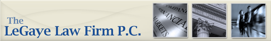 The LeGaye Law Firm P.C. - Financial Services Compliance, Houston, Texas